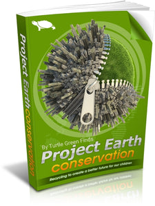 [E-Book] Project Earth Conservation By Turtle Green Finds