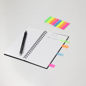 Eco-Friendly Reusable/Erasable Lined Notebook (A6 size)