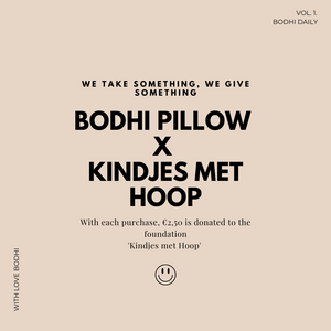 Bodhi Pillow Teddy Offwhite LIMITED EDITION