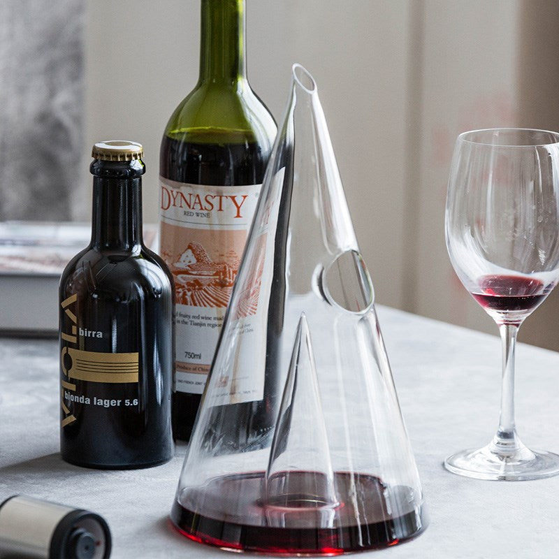 Handmade Glass Wine Decanter