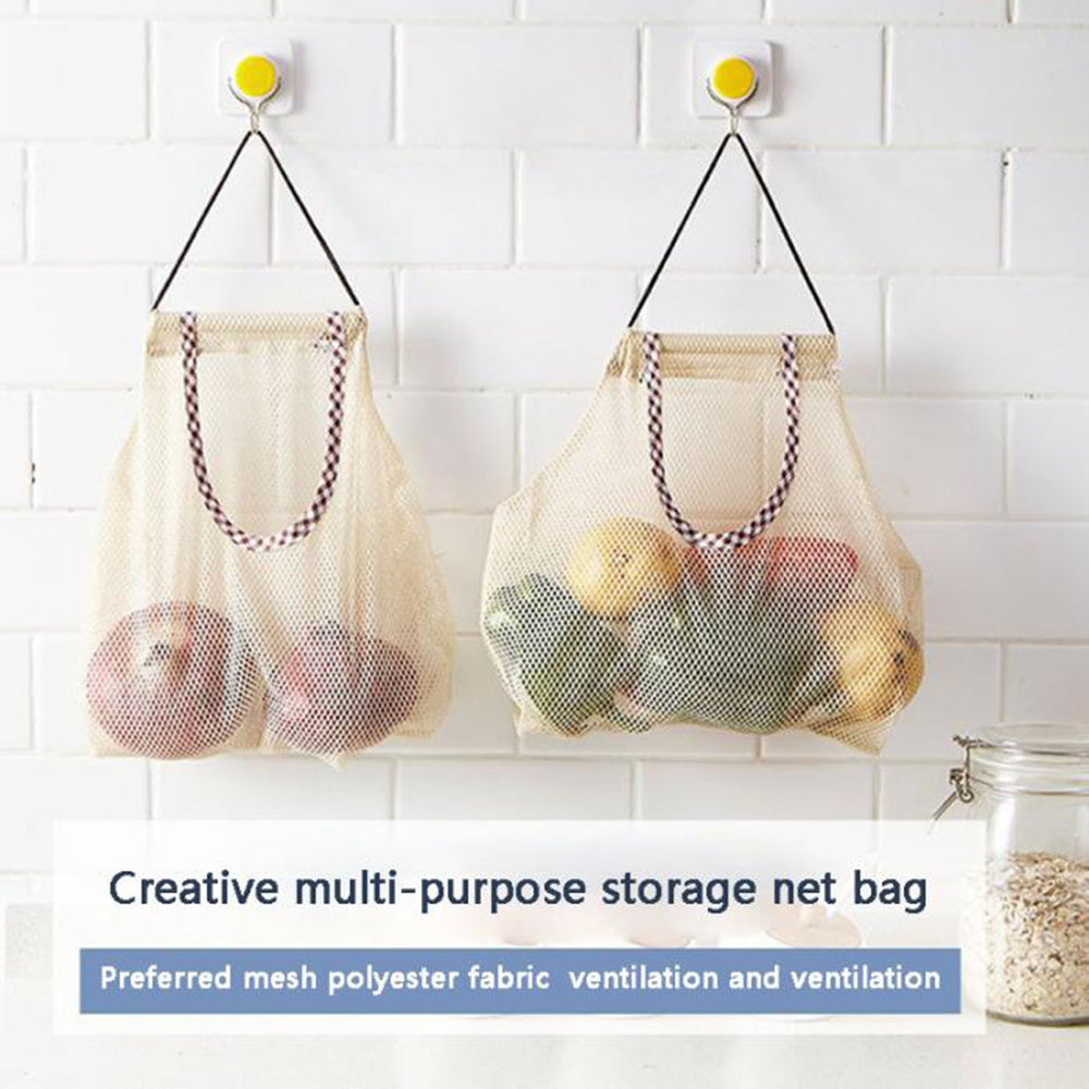 Boho Kitchen Wall Storage Bags