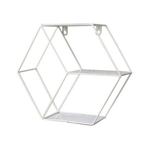 Iron Grid Invisible Shelf