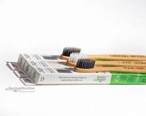HURRY  SALE NOW ON !!  REDUCED TO 21.99 EUROS  FROM 24.99 EUROS  WHILE STOCKS LAST10pc Premium Bamboo Toothbrushes (10 pieces) - laser engraved with your name or text. - bamboomamboo europe