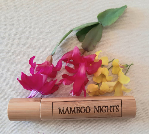 Mamboo Nights Eau de Parfum  roll on, 30ml in bamboo container - bamboomamboo europe