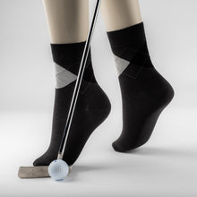 Load image into Gallery viewer, 24.99 EUROS  REDUCED TO 19,99 EUROS Luxury Bamboo fibre  Golf and office  collection  socks  BLACK - bamboomamboo europe