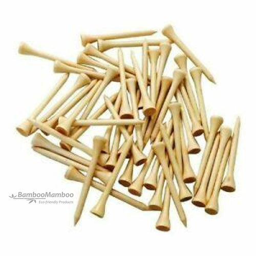 Bamboo Golf Tees 70mm  ( NO ENGRAVING ) - bamboomamboo europe