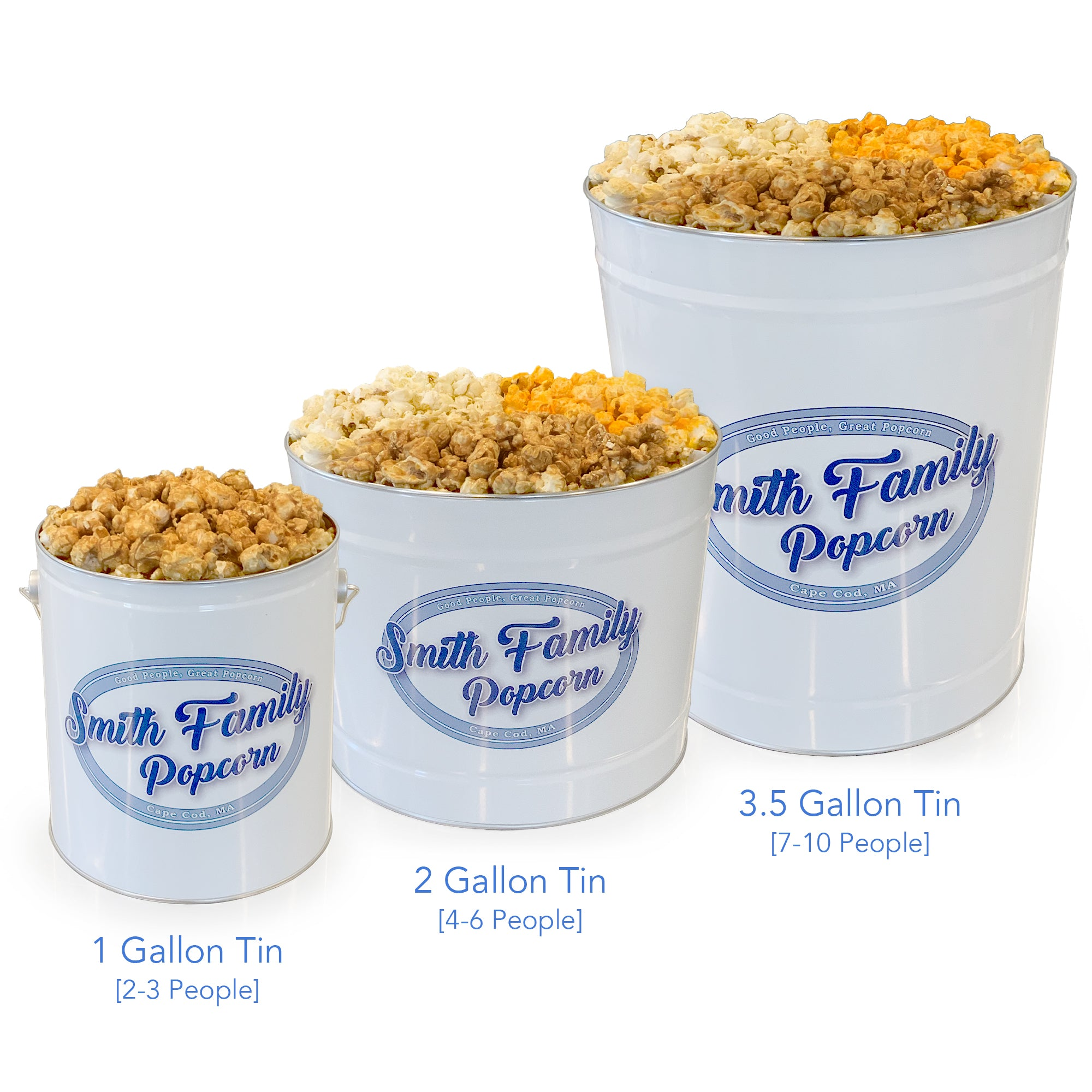 Spicy Popcorn Tin Combination