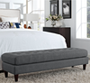Empress Large Bench Gray