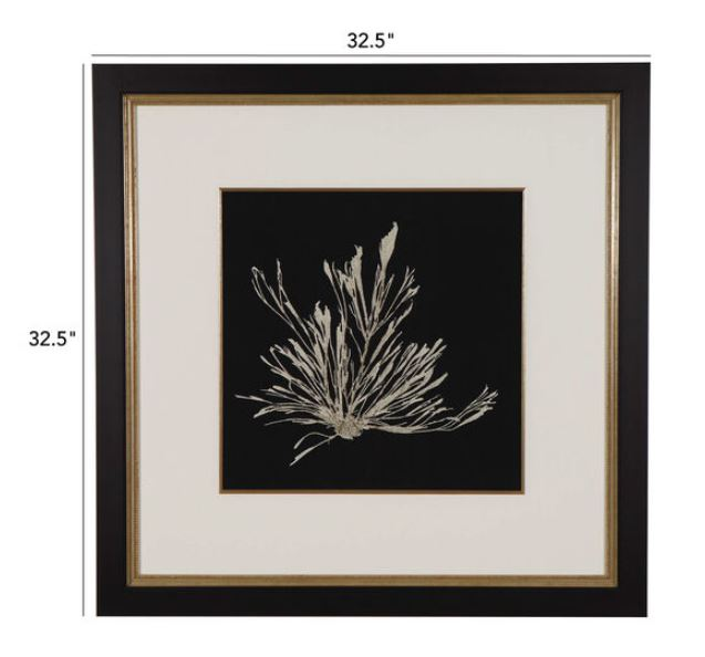 Ethan Allen Seaweed on Black III