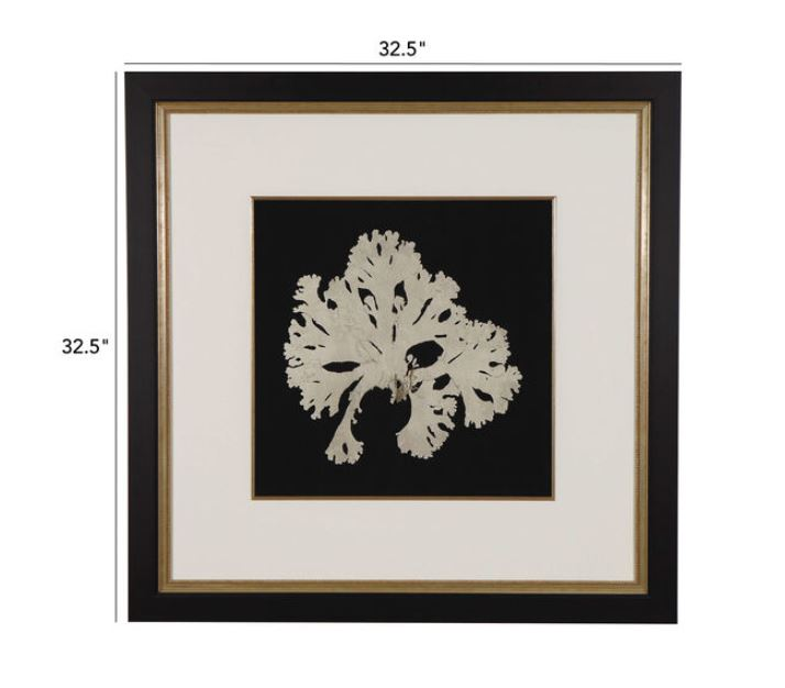 Ethan Allen Seaweed on Black IV
