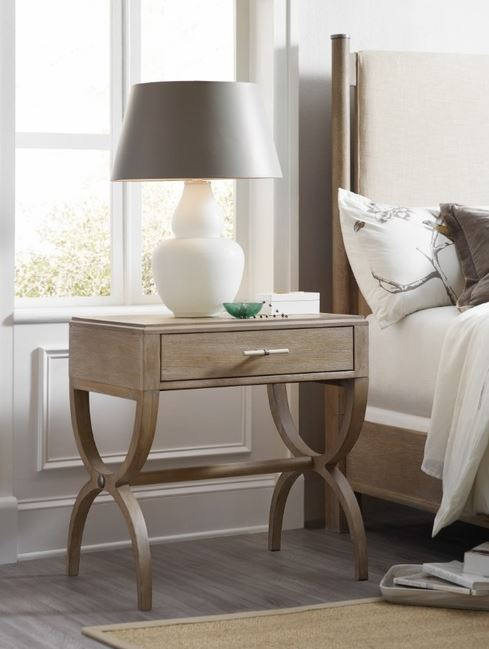 Affinity Leg 1 Drawer Nightstand