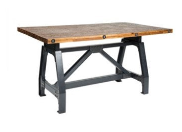 Industrial Dining Table w/6 Chairs