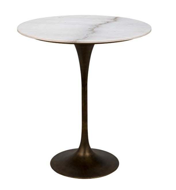 Laredo Marble Top Bar Table