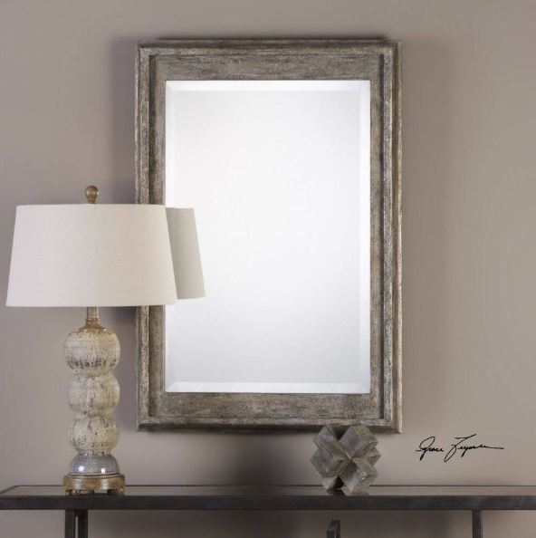 Allegan Silver Leaf Mirror