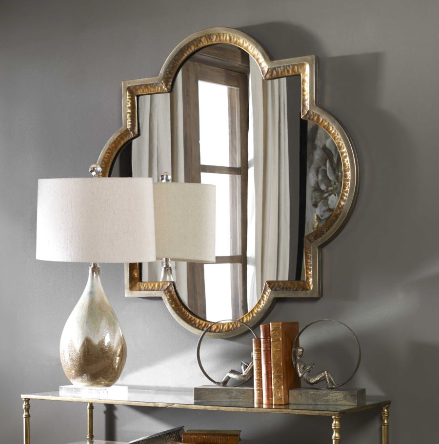 Lourosa Gold Wall Mirror
