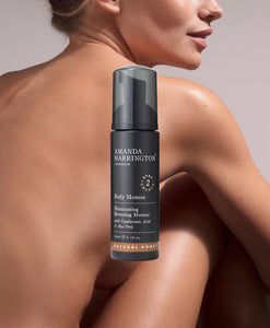 BODY TANNING - Lifestyle image of Model with the Body Mousse product