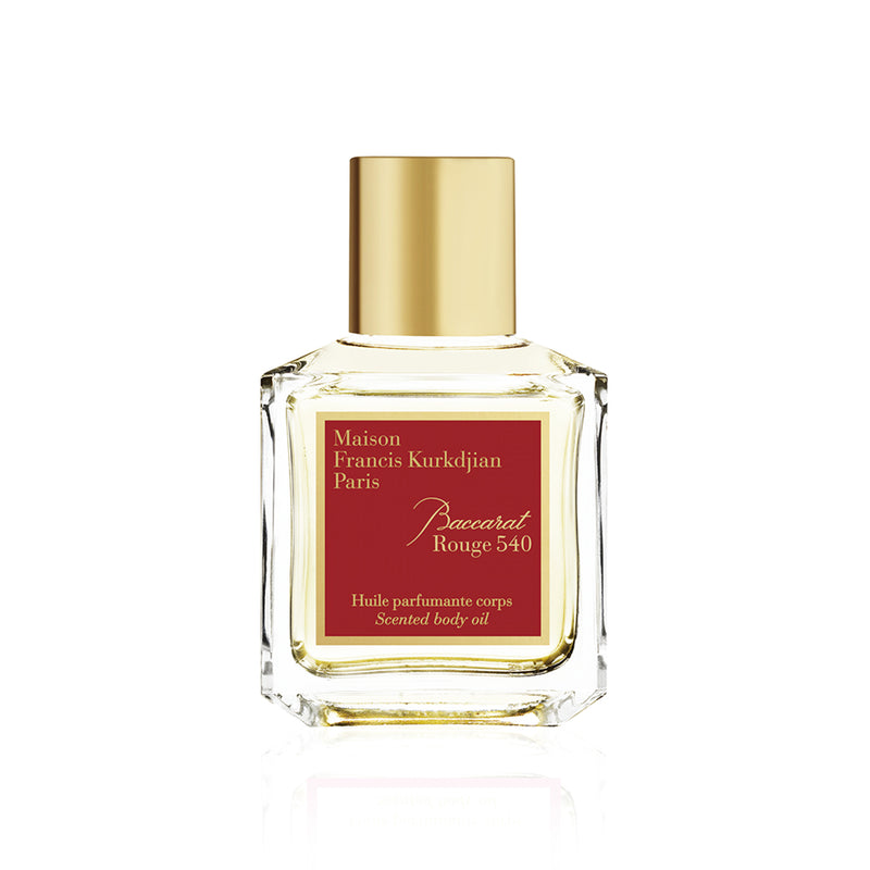 Baccarat Rouge 540 Body Oil from the official distributor of MFK perfume in Dubai