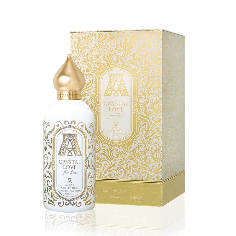 Crystal Love For Her from the Attar Collection, niche perfume from Scentitude online store