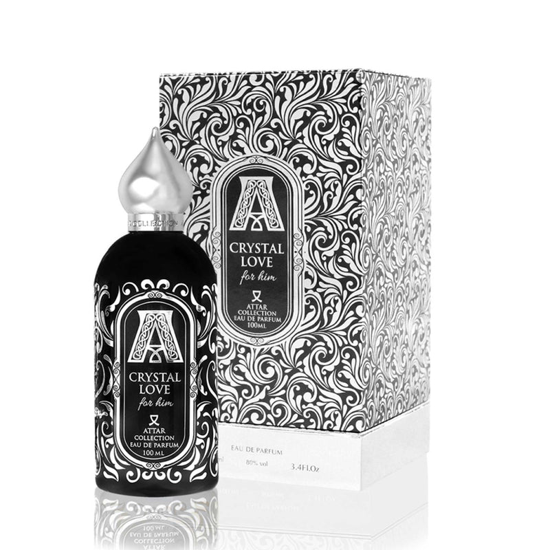 Crystal Love For Him from the Attar Collection, niche perfume from Scentitude online store