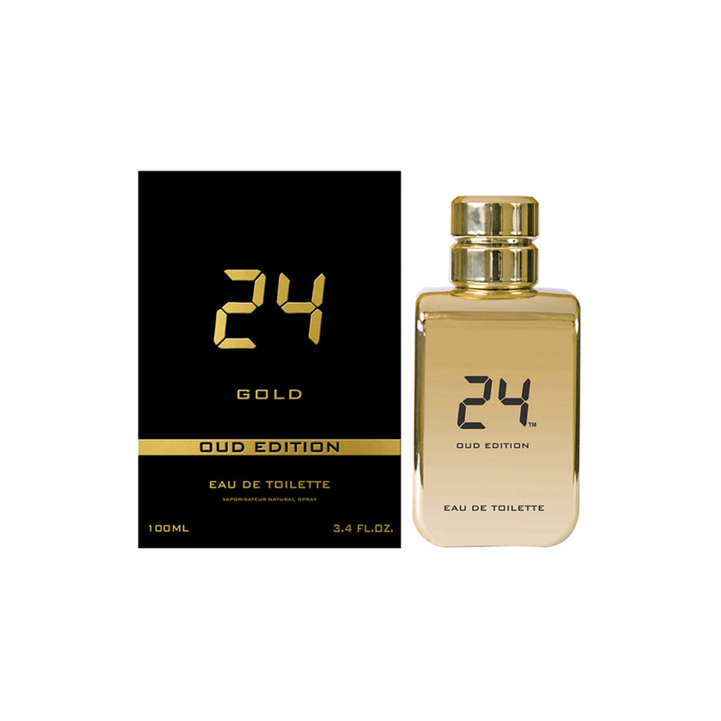 Gold Oud Edition Eau de Toilette by 24, niche perfume from Scentitude online store