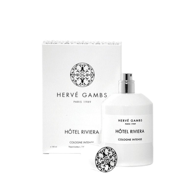 Hotel Riviera cologne by Hervé Gambs, shop for luxury perfume online at Scentitude