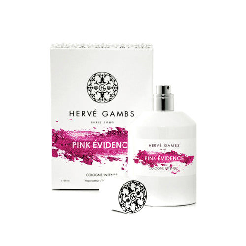 Pink Evidence cologne by Hervé Gambs, shop for luxury perfume online at Scentitude
