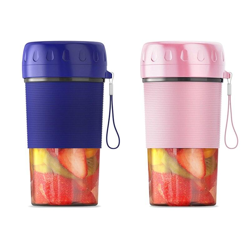 300ML USB Portable Electric Juice Maker Cup Fruit Mixer Juice Blenders Bottle Kitchen NOV99