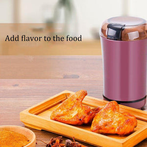Kitchen Electric Coffee Grinder 400W Mini Salt Pepper Grinder Powerful Spice Nuts Seeds Coffee Bean Grind Machine Electronic