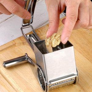 Rotary Cheese Grater butter knife Multifunction Stainless Steel cheese slicer tools knife cheese ralador