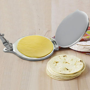 Tortilla Maker Cake Press Pot Tool Dough Pressure Aluminum Alloy Home DIY Pancake Tortilla Press Pie Machine Kitchen Gadget