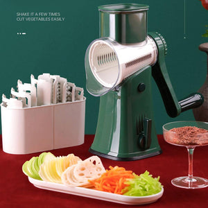 Cutter 5-in-1 Manual  Shredder Cutter Potato Carrot Grater Chopper Kitchen Gadgets