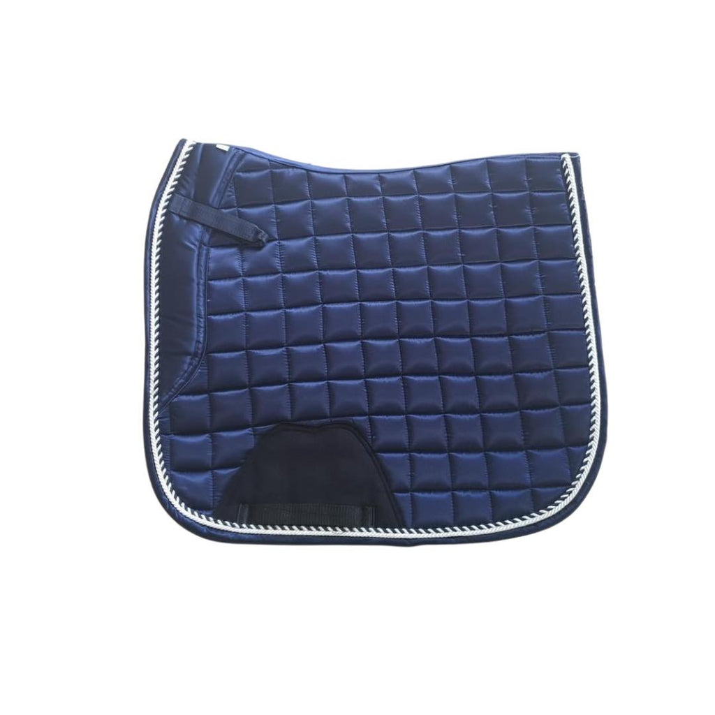 Deluxe Satin Dressage Saddle Pad