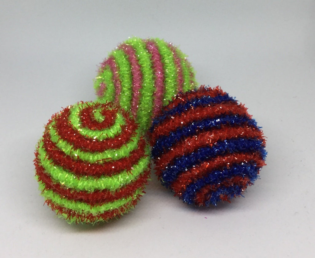 Tinsel Clicker Ball | cjade-online-pet-equine