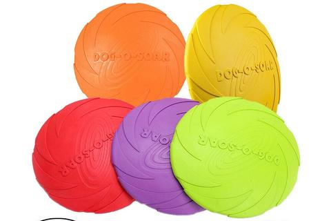 Dog-O-Soar Silicon Frisbee - CJade Online Pet & Equine