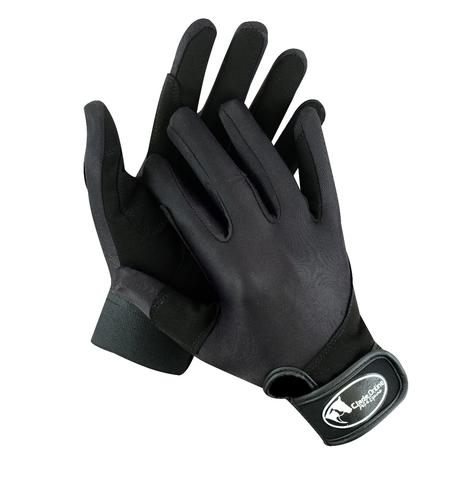 Synthetic Riding Gloves - Kids.
