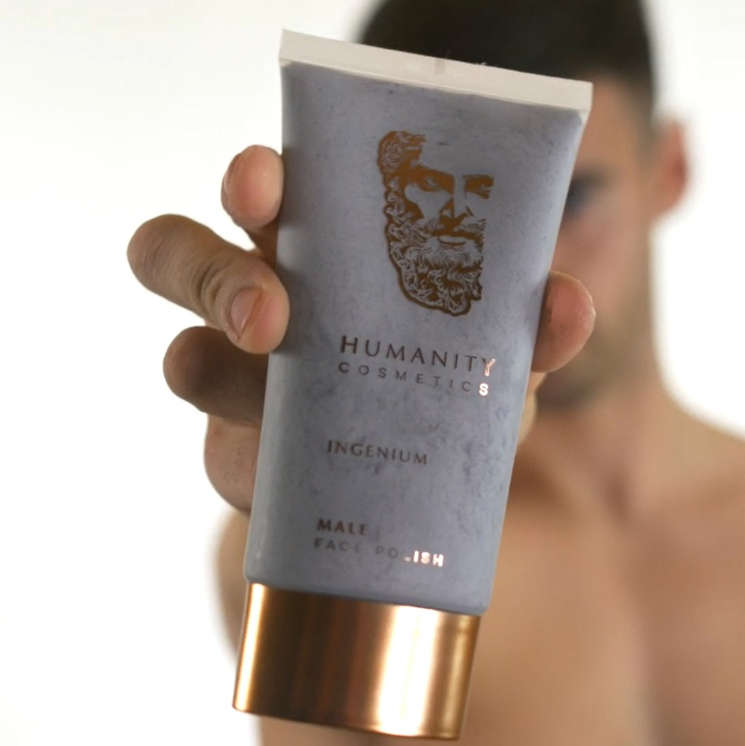 Humanity Cosmetics Skincare For Men Face Polish For Men