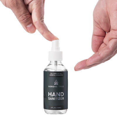 4oz Hand Sanitizer Spray
