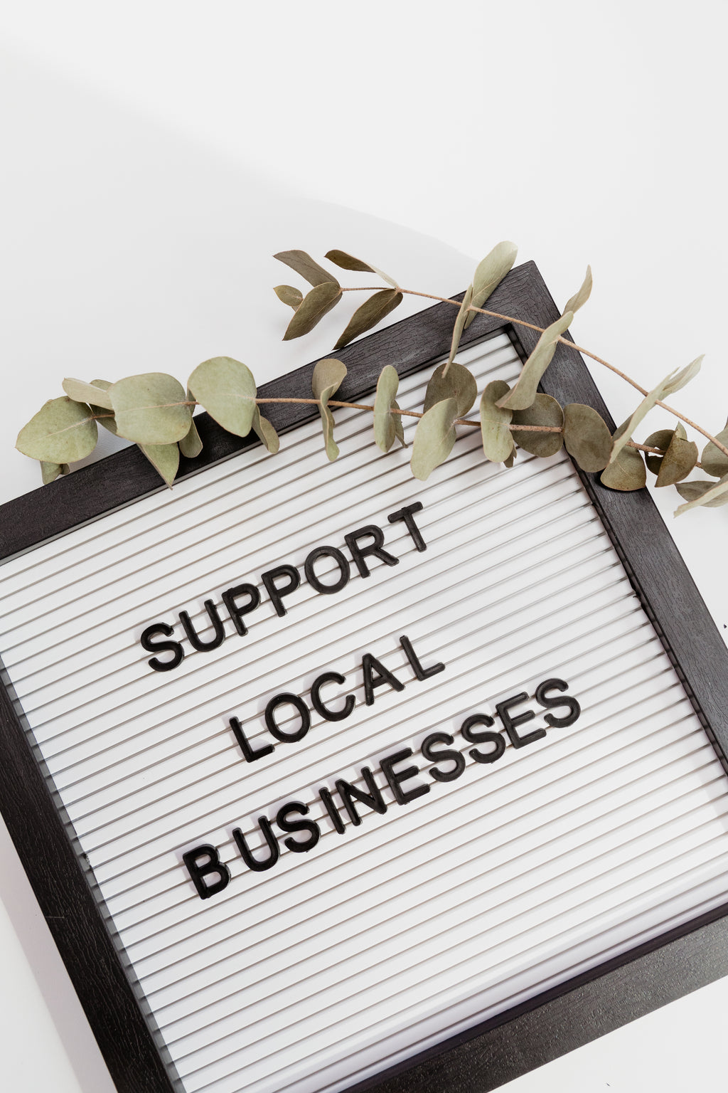 Support Local - The Printable Place