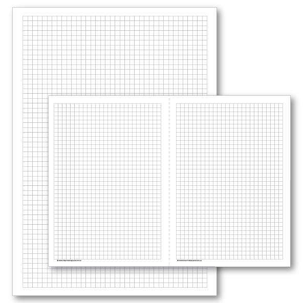 Grid for Bullet Journal Download Template - The Printable Place