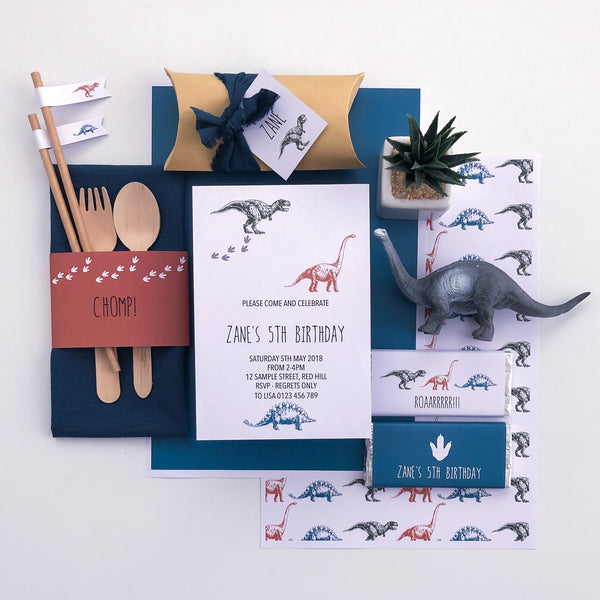 Dinosaur Printable Party Decoration Downloads | The Printable Place