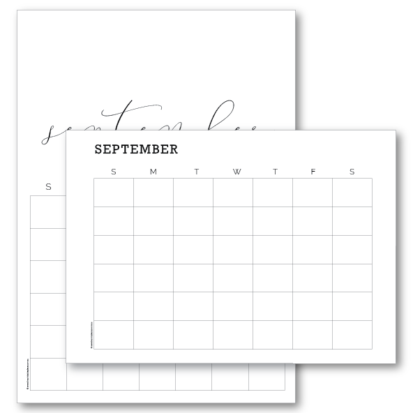 Editable Calendar Template Download - The Printable Template