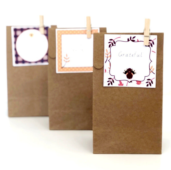 Cute Thanksgiving Printable Decor Download Gift Tags