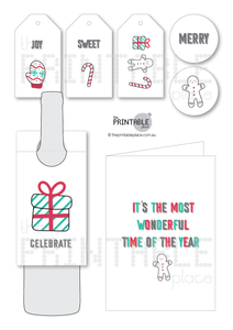 Fun and Bright Christmas Gift Set for Kids - The Printable Place