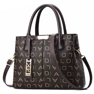 Yogodlns Luxury Handbags Women PU Leather