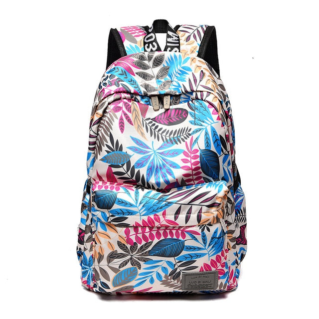 Hawaii Style Brand Backpacks For School Teenagers Girls