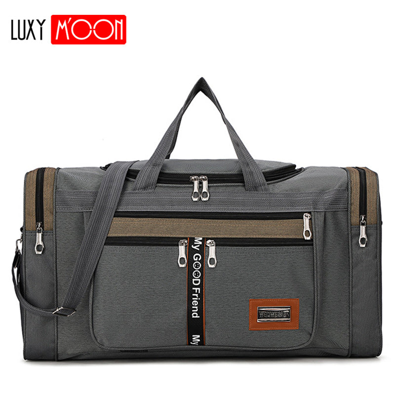 Large Capacity Fashion Travel Bag Nylon Portable Travel Carry Bag
