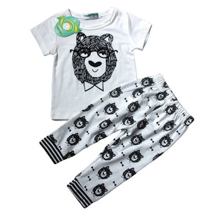 Clothing For Baby Girls Clothes Set T-shirt+Pant Easter Costume Outfits Suit