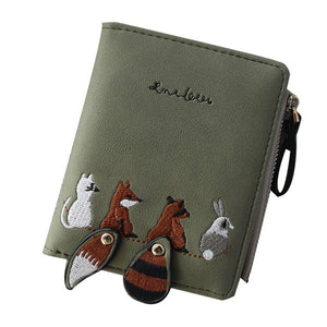 High Quality Cartoon Animals Coin Purse