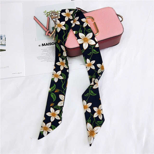Scarf Small National Wind Flower Family Headdress Hair Band