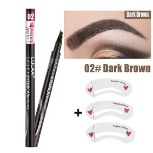 1Pcs Makeup Sketch Liquid Eyebrow Pencil  Waterproof Brown Eye Brow  Long Lasting